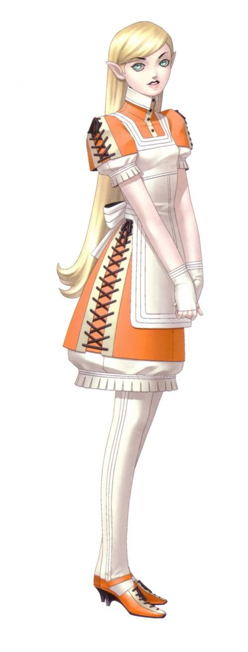 Hanoun, known as Anoon (アヌーン) in the Japanese version, is a minor character from Shin Megami Tensei II.