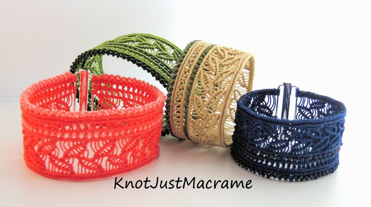 Bringing Macrame into the 21st Century! Micro Macrame Jewelry & Tutorials by Sherri Stokey.