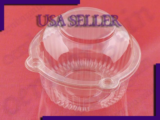 Single Plastic Cupcake Box Display Case for Any Occasion Cake Package X100 | eBay