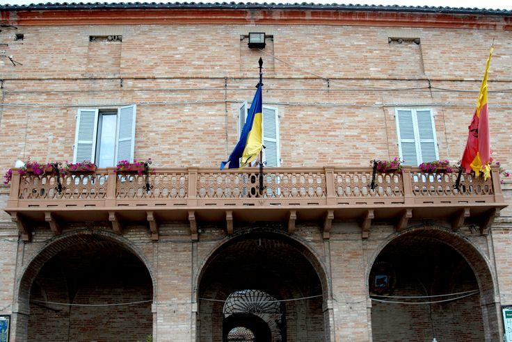 Palazzo Comunale. #marcafermana #servigliano #fermo #marche