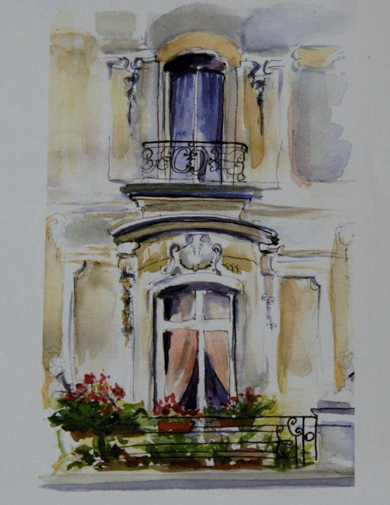 Paris Balcony by DianeBronstein on Etsy,