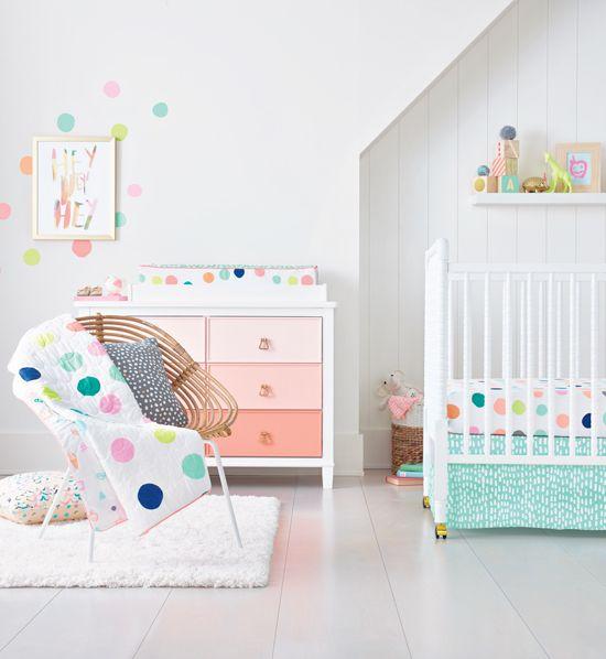 17 Best Ideas About Polka Dot Nursery On Pinterest Polka