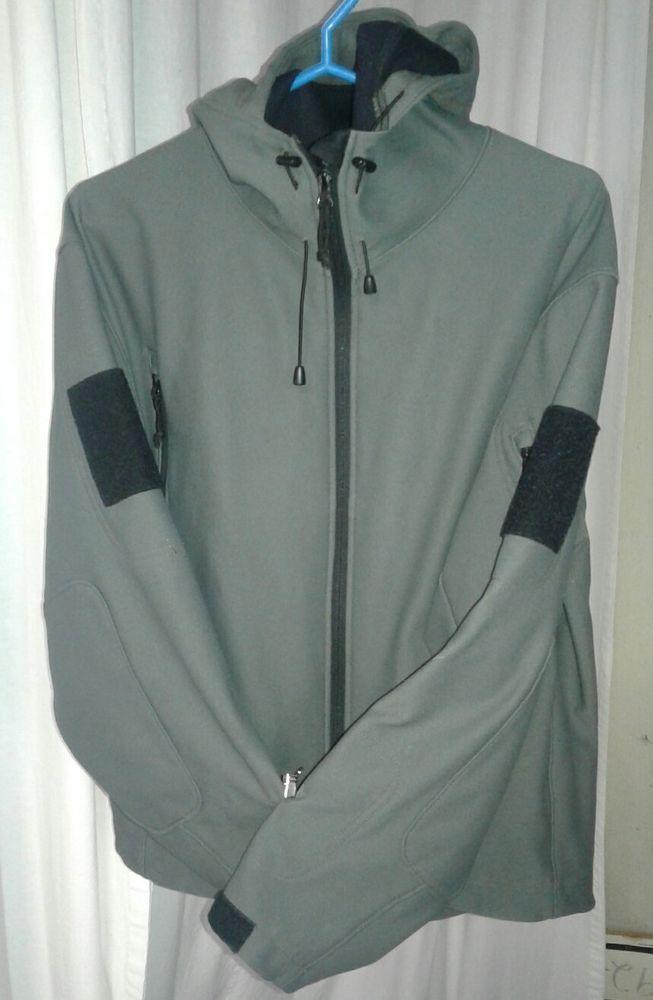 TAD GEAR Mens Winter Outdoor Jacket with HOOD Waterproof Hunting Gray Medium #TadGear #BasicJacketwithHood