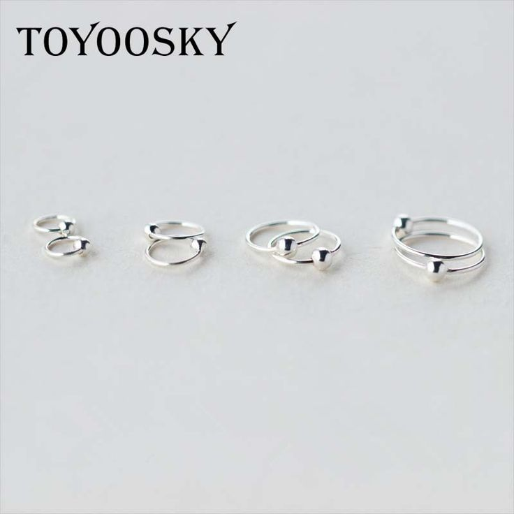 925 Sterling Sliver Small Tiny Ball Huggie Hoop Earrings 6mm 8mm 10mm 12mm Minimalist Ear Piercing Tragus Helix Cartilage 2016