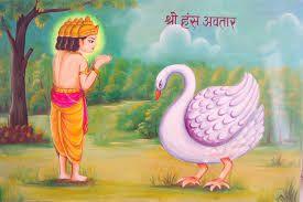 श्रीमद भगवद गीता: आप जानते है भगवान् विष्णु का बीसवाँ अवतार : हंस अव...