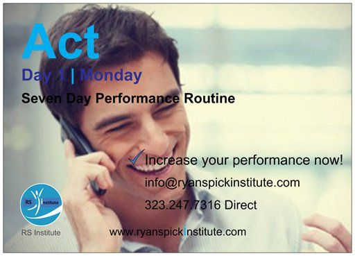 #Day #Act #Routine #Life #Performance #Training #Achieve #Goal #Potential