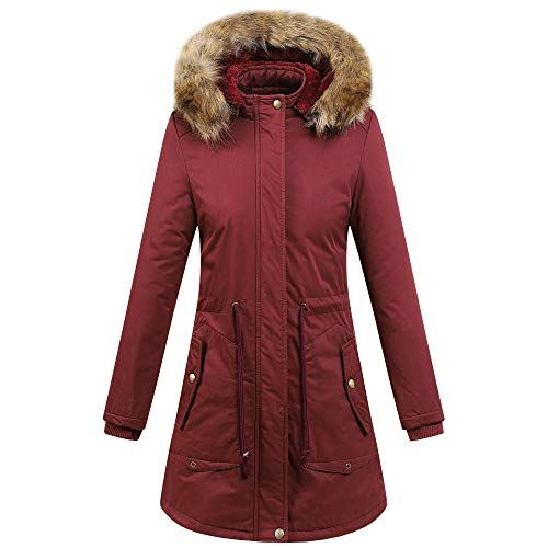 DEATU Womens Thick Outerwear Sale Clearance Ladies Winter