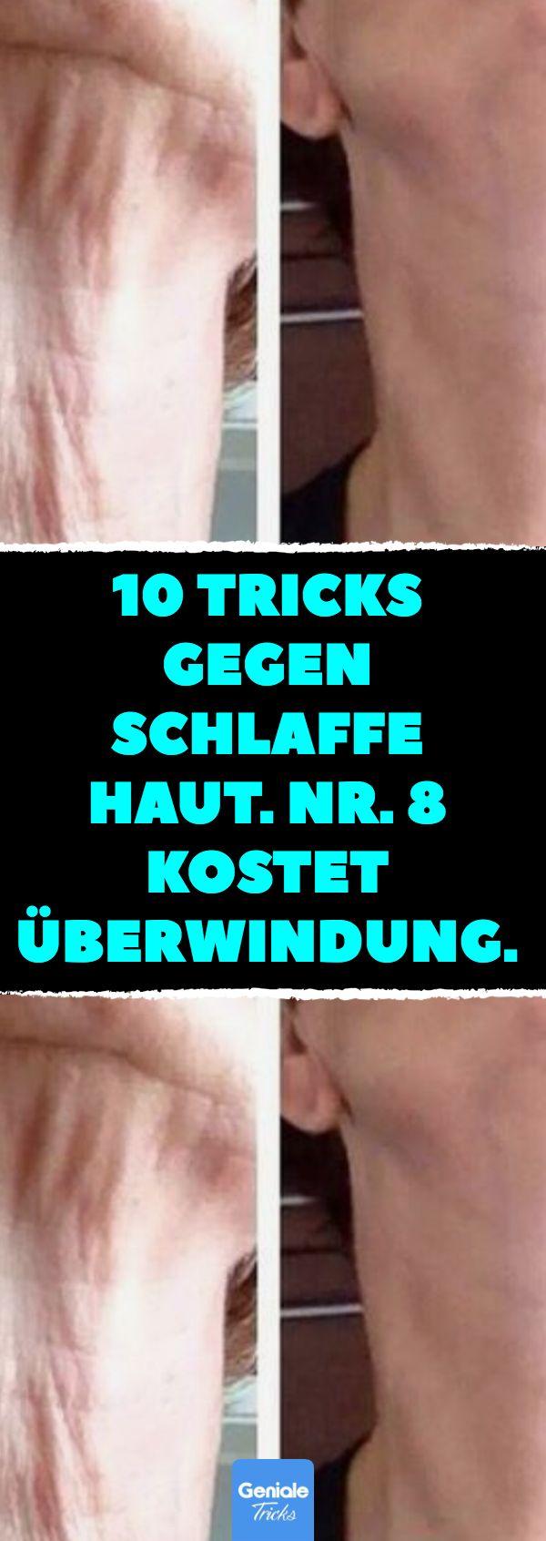 10 Blitz-Tipps gegen körperliche Erschlaffung. Nr. 8 kostet Überwindung. Haut …