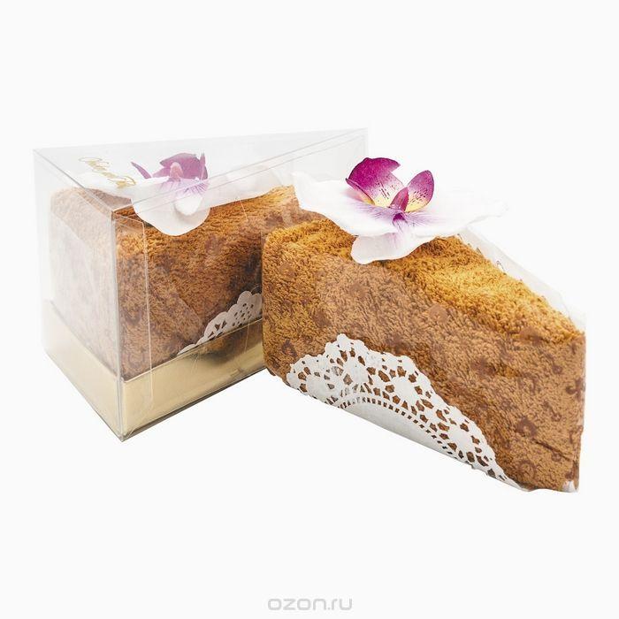 Полотенце столовое для гурманов Кусочек торта Кабрион Карамель