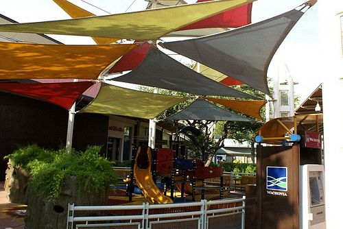 Fabric Canopy Structures At Baseball : Ideas about shade structure on pinterest exterior