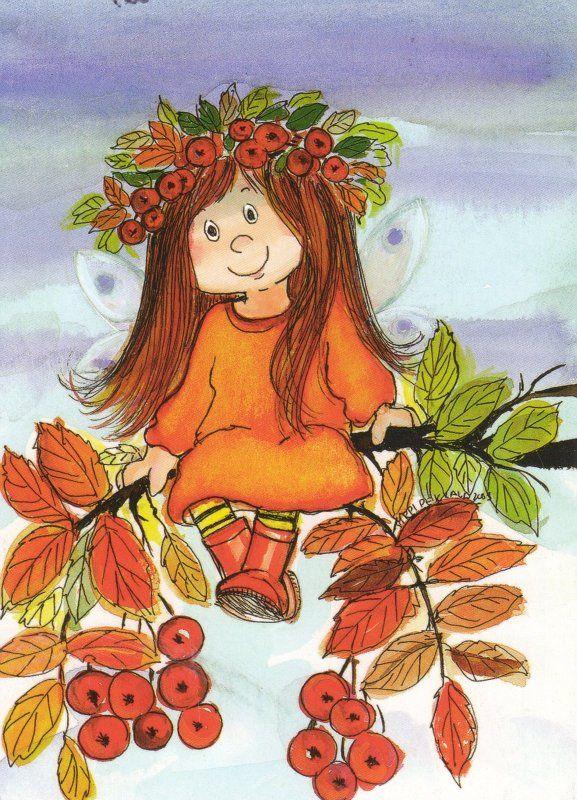 Вирпи Пеккала (Virpi Pekkalan): милые рисунки