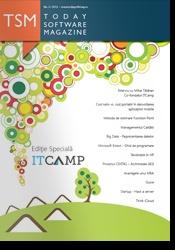 A aparut numarul #3 al revistei. Un numar special ITCamp. Cititi-l online pe www.todaysoftmag.ro
