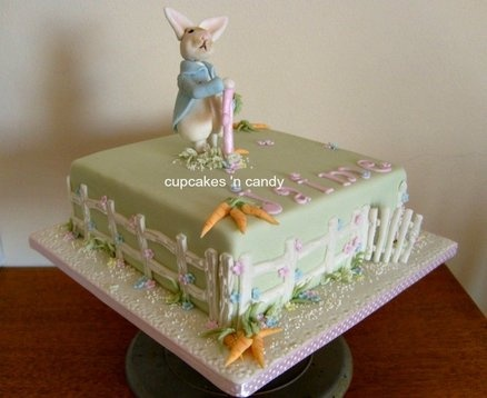 Beatrix Potter  Cake by jillybean