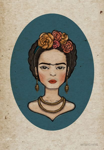 Frida Art Print by Nataryclyrehs   Society6