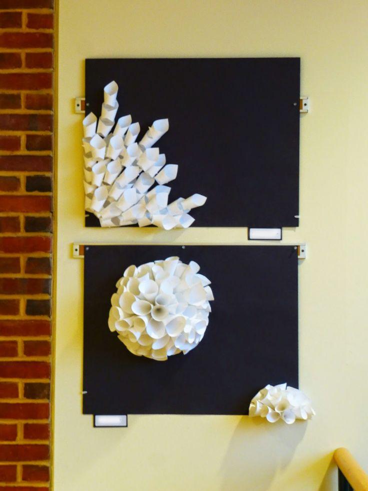 The Calvert Canvas: Adventures in Middle School Art!: Paper Relief Sculpture