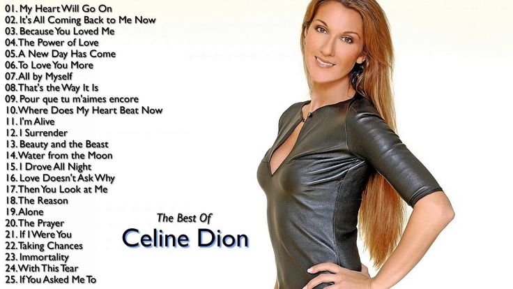 Celine Dion Greatest Hits   Best Song Of Celine Dion