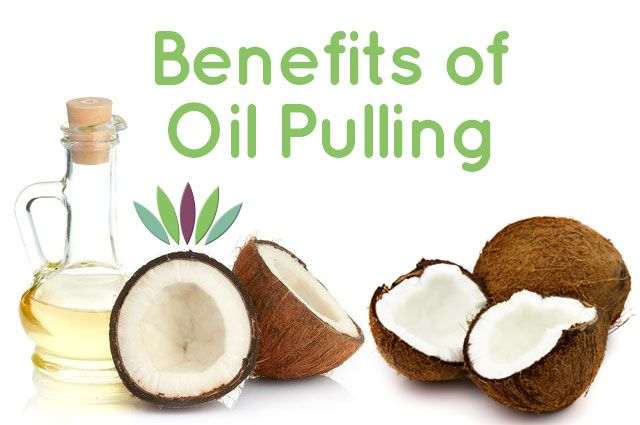 You can detox with coconut oil and enjoy the many benefits of oil pulling. Reduce bad breath, prevent cavities and improve oral health!