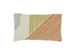 Saskia Pipe 50x30cm Cushion in Multi Pipe