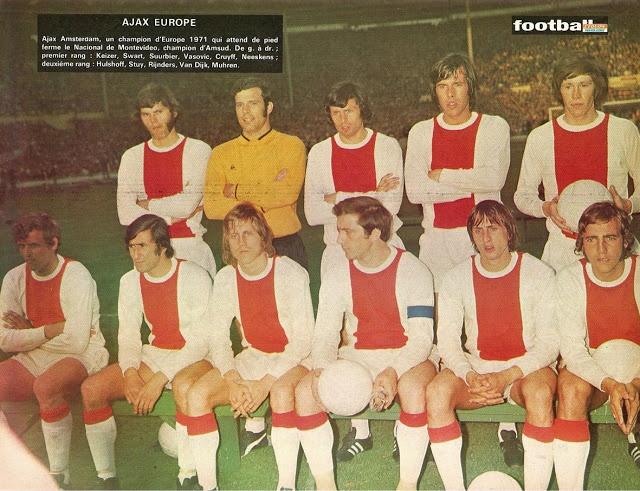 AJAX AMSTERDAM 1970-71