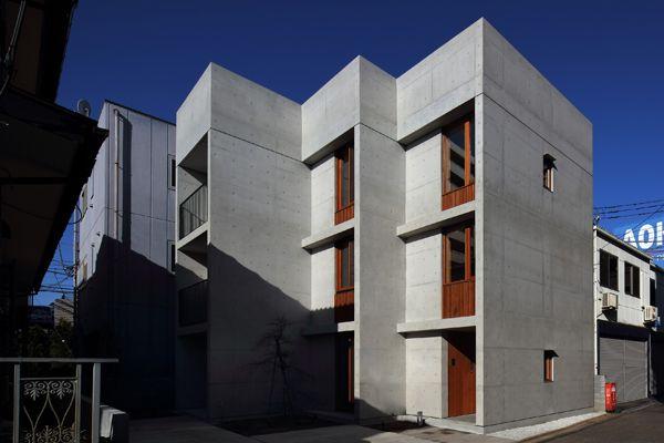 コンクリート造・RC造の家 | 鉄筋コンクリート住宅  -木製窓の生活空間- | アーキッシュギャラリー
