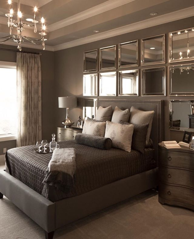 25+ Best Ideas About Mirror Headboard On Pinterest