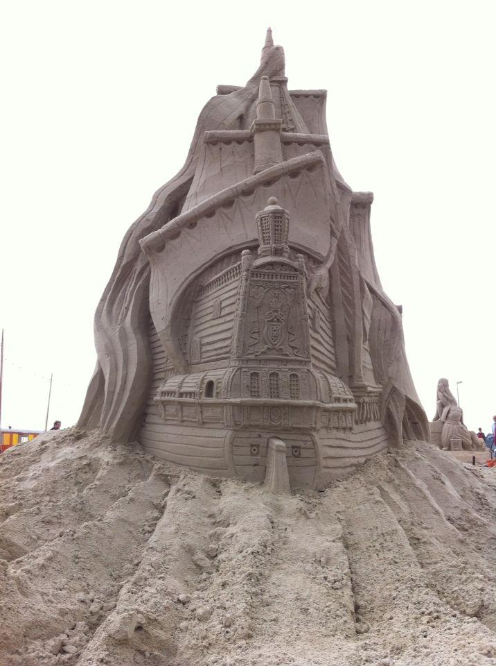 Sandsculpture blauwestad