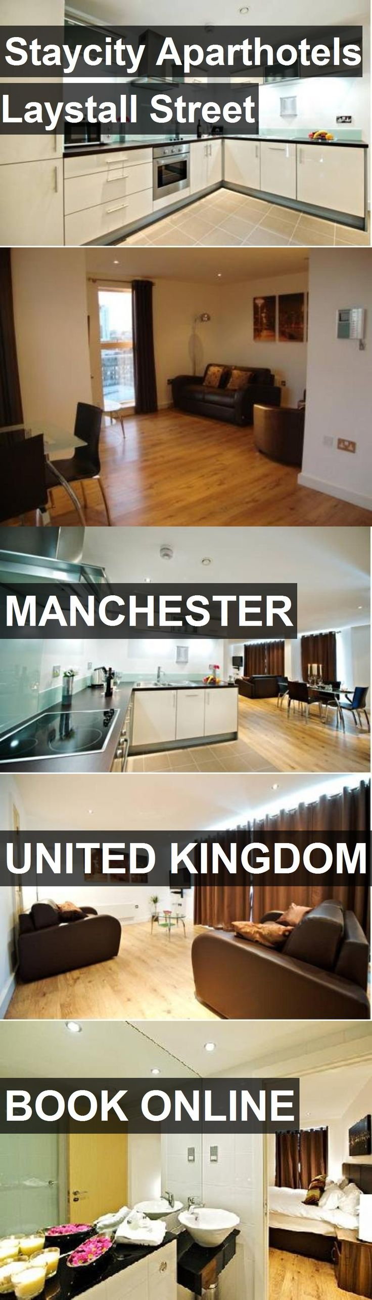 Staycity Aparthotels Laystall Street in Manchester, United Kingdom. For more information, photos, reviews and best prices please follow the link. #UnitedKingdom #Manchester #travel #vacation #hotel