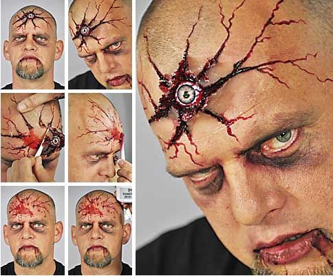 Tutorial horror terzo occhio. Per realizzare questo make up: http://loacenter.blogspot.it/2012/10/trucco-halloween.html