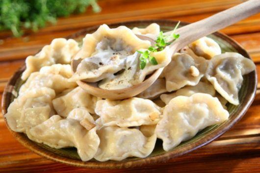 Вареники с грибами - правильные рецепты - Как вкусно приготовить