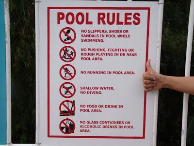 17 Best Images About Pool Rules On Pinterest Vinyls Pools And Signs