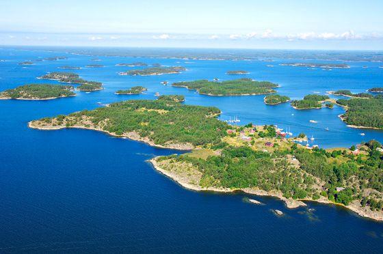 Finnish archipelago. Finland.