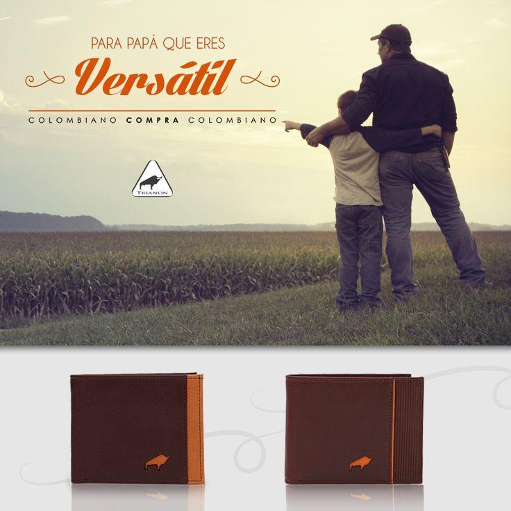 Un #padre siempre da lo mejor que tiene, ahora es tu momento de darle lo mejor. #ColombianoCompraColombiano http://trianon.com.co/ #FelizDíaPapá