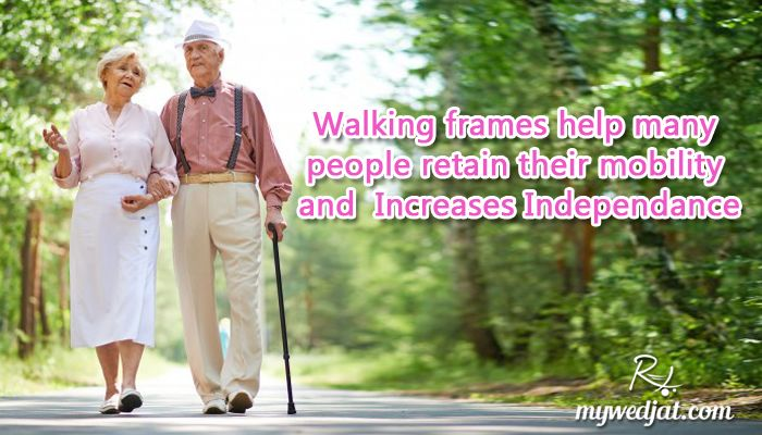 Ensure your comfort & independence - shop our collection of senior walking aids