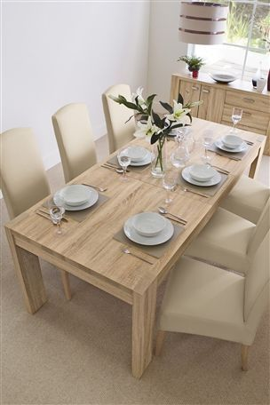 Buy Corsica Extending Dining Table From The Next UK Online Shop 299 Seats Up To