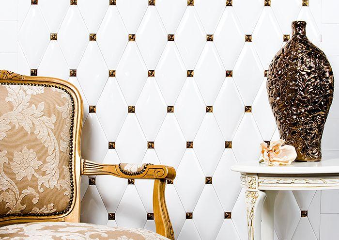 CARAT DUNIN . Inspiration bathroom. Łazienka, biała łazienka, białe płytki, płytki carat, białe caraty, eleganckie caraty, luksusowa łazienka, inspiracja łazienki