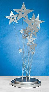 Celestial Wonders Centerpiece, Celestial Centerpiece, Metal Star Centerpiece