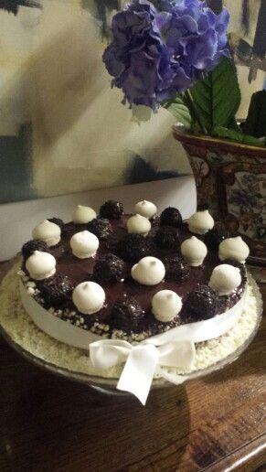 niege au chocolat