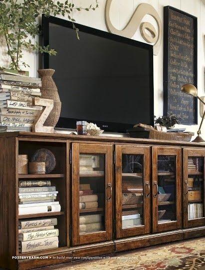 Como decorar alrededor de la tele | Decorar tu casa es facilisimo.com