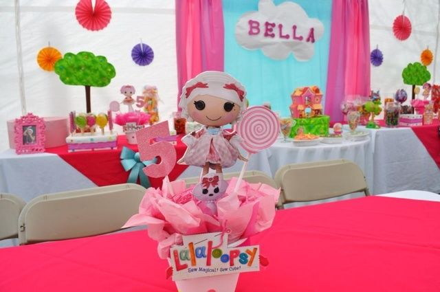 LalaLoopsy Birthday Party Ideas | Photo 22 of 45 | Catch My Party