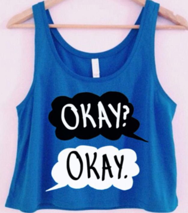 The Fault in Our Stars: Etsy Inspiration I need this shirt!