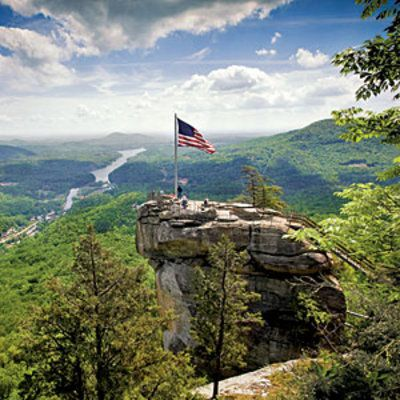 On the 25th anniversary of Dirty Dancing, sashay your way through the North Carolina Highlands.