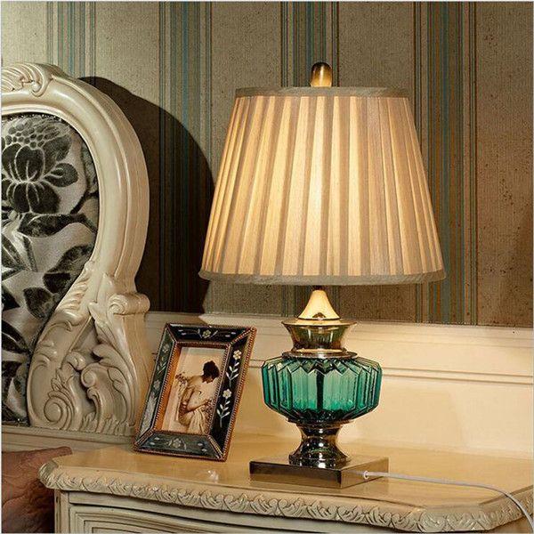 3 цветов современный китайский мода хрусталя ткань из светодиодов E27 настольная лампа для свадьбы декор гостиная спальня AC 80   265 В 1310 купить на AliExpress