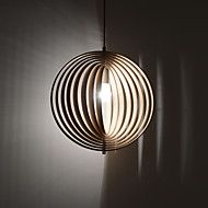 Pendant Light ,  Modern / Vintage / Country Wood Feature for Designers Wood/BambooDining Room  / Study (Diameter 50cm) – AUD $ 243.09