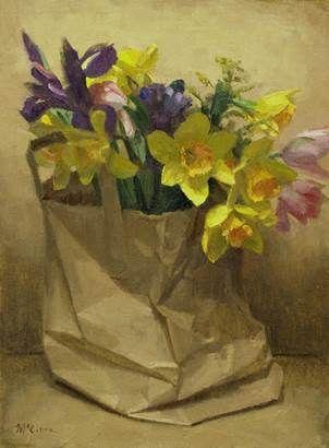 Ewan McClure Scottish oil painter