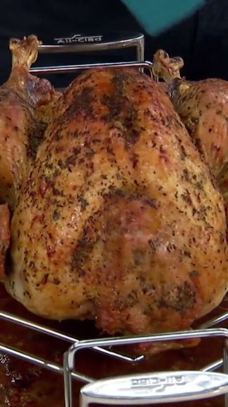 Jeff shows how to dry brine a turkey for all the flavor without the fuss! Try The Kitchen's Crispy Herb Roasted Turkey for your next Thanksgiving feast.