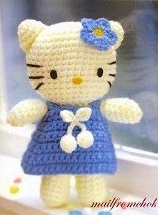 Tuto Gratuit Amigurumi Hello Kitty : Les 25 meilleures idees de la categorie Modeles Danimaux ...