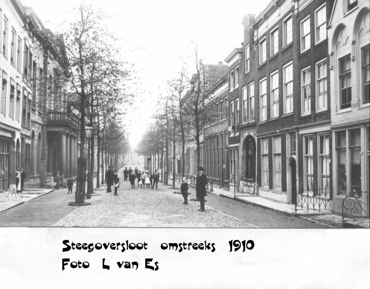 Oud Dordrecht - Steegoversloot