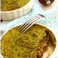 PARMENTIER DE COURGETTES AU BŒUF  C'est le moment de la Courgette dans nos jardins, il faudra commencer à trouver divers recettes pour l'utiliser, elle est très peu calorique et s'accommode avec...
