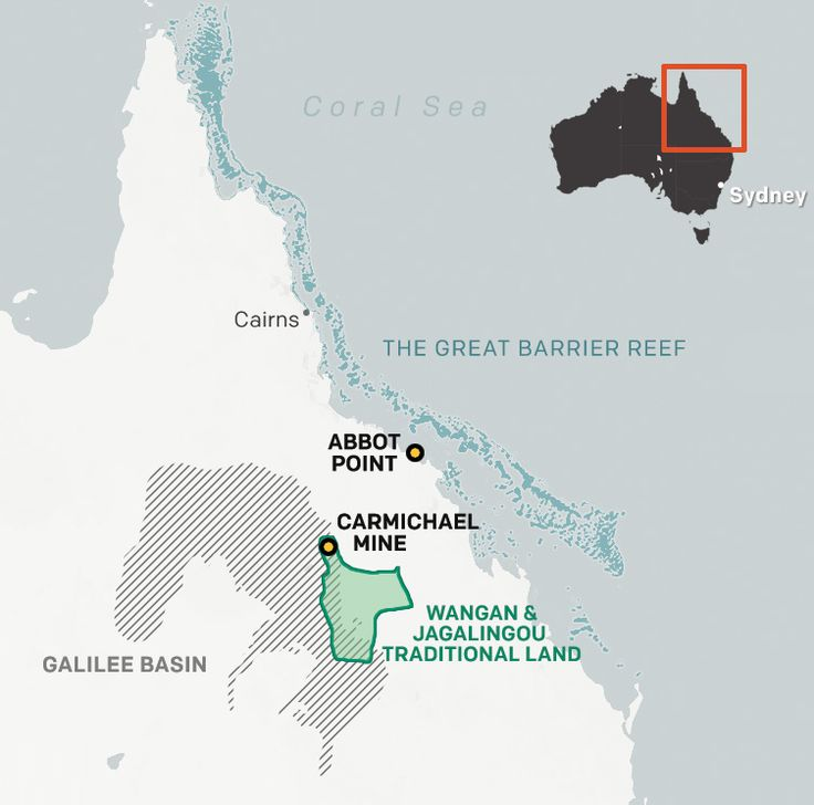 Even as the Great Barrier Reef weakens from the impacts of climate change, Australia pursues plans to mine millions of tons of climate-polluting coal from the traditional lands of the Wangan and Jagalingou people.