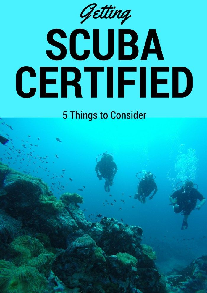 Getting Scuba Certified: 5 Things to Consider Before Choosing Where You Go - Eat Sleep Breathe Travel